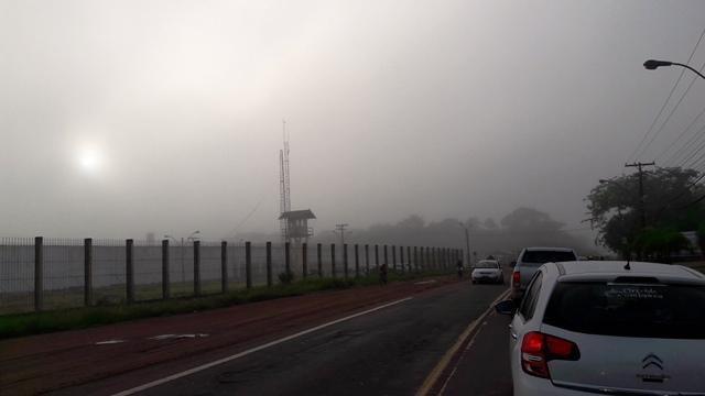 Forte neblina encobre Macapá