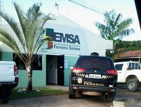 Operação da PF investiga fraude em licitações da Saúde em Ferreira Gomes