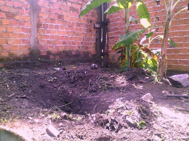 Policiais encontram ossada humana em quintal no Novo Horizonte