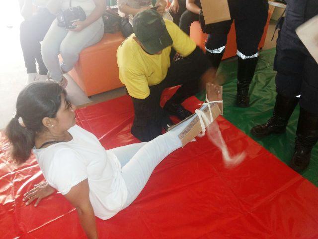 Samu ensina técnicas de primeiros socorros em shopping de Macapá