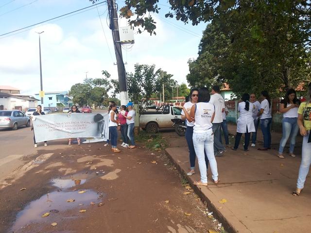 No Amapá, blitz marca o Dia de Combate à Violência Infantil