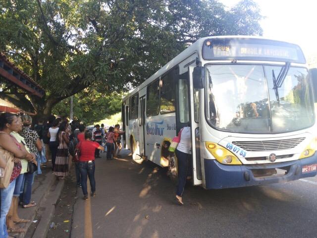 No Círio, 100% da frota de ônibus estará nas ruas