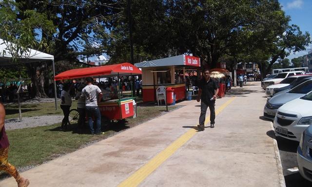 Comerciantes esperam lucrar mais com revitalização da Praça Veiga Cabral