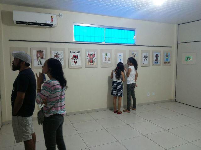 Mostra de artes visuais de alunos surpreende