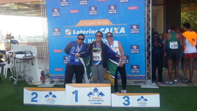 Paratletas amapaenses conquistam seis medalhas em etapa nacional de atletismo
