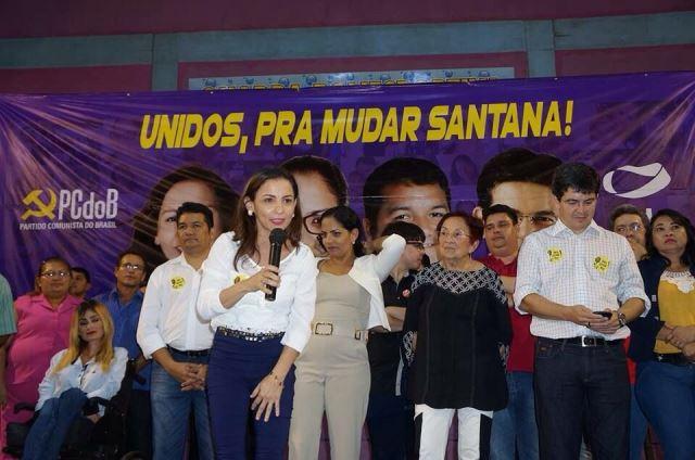 Em Santana, Marcivânia lidera pesquisa; Robson tem a maior rejeição