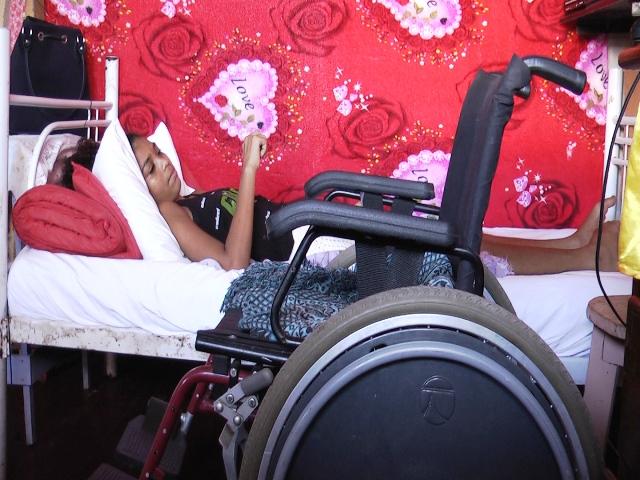 Estudante com esclerose múltipla sonha em ser médica