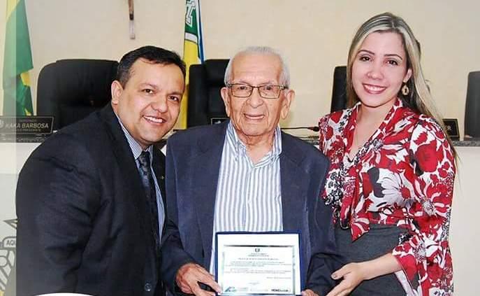 Aos 89 anos, Nonato Leal recebe o Título de Cidadão Amapaense