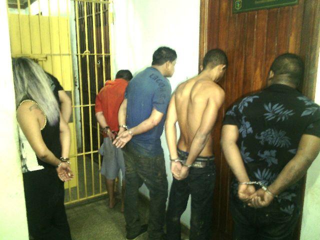 Bando é preso depois de arrombar cofre de banco