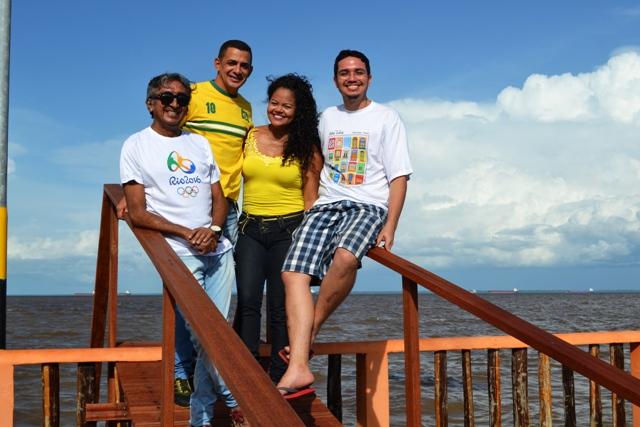 Os voluntários do Amapá nas Olimpíadas