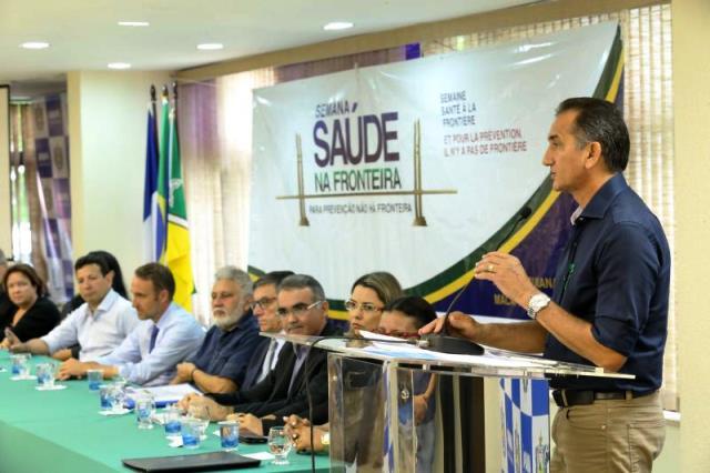 Governos do Amapá e Guiana discutem endemias na fronteira