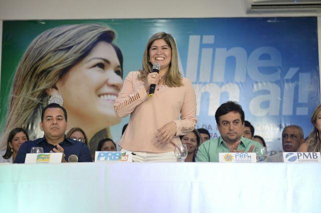 Aline Gurgel lança pré-candidatura à prefeitura de Macapá