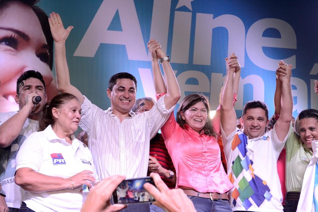 PRB lança Aline Gurgel para a disputa da prefeitura de Macapá
