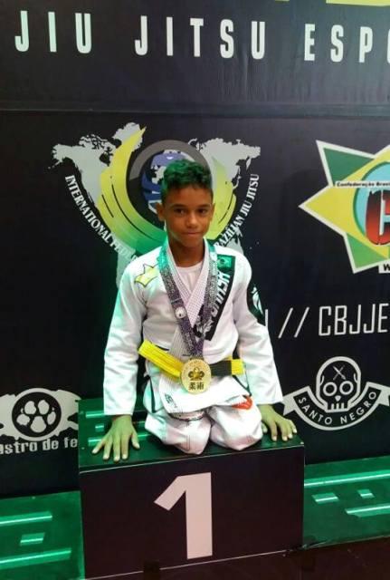 Paratleta amapaense vence Mundial de Jiu-jítsu