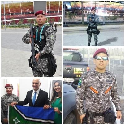 Quem são os guerreiros do Amapá que fazem a segurança das Olímpiadas