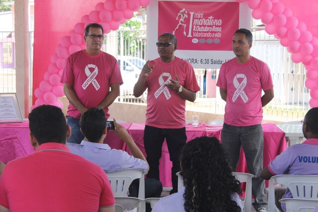 Outubro Rosa terá corrida de rua contra o câncer de mama