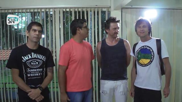 'A gente tava devendo tocar aqui', diz Dado Villa-Lobos em Macapá