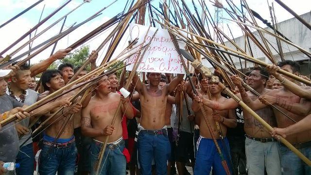 Guerreiros prometem continuar protestos em Oiapoque