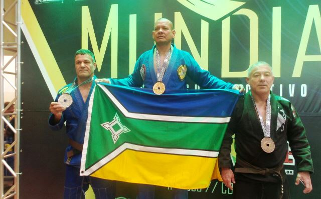Subtenente da PM do AP é campeão mundial de jiu-jitsu