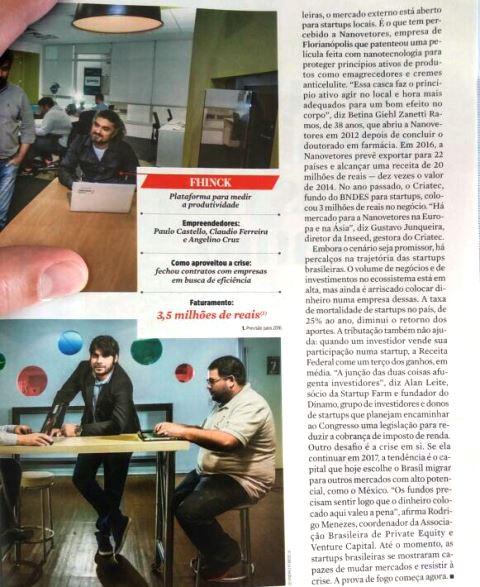 Trechos da reportagem da revista sobre o Orçafascio