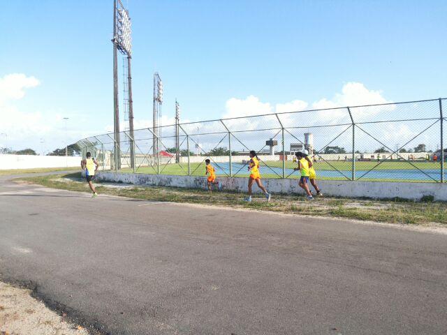 Programação ao redor do Estádio Zerão atrai praticantes de esportes