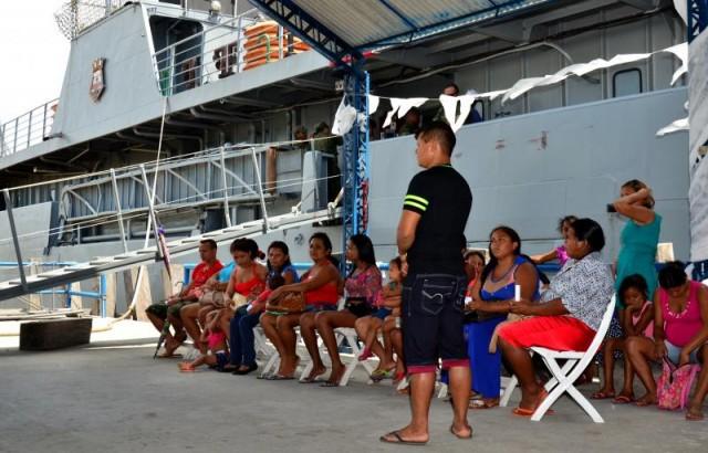 'Rios de Cidadania' presta quase 10 mil atendimentos no Bailique