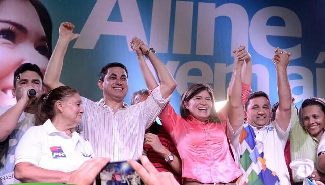 Justiça determina que PP continue na coligação de Aline