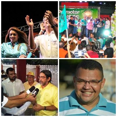 Último dia de convenções define candidatos em Macapá e Santana