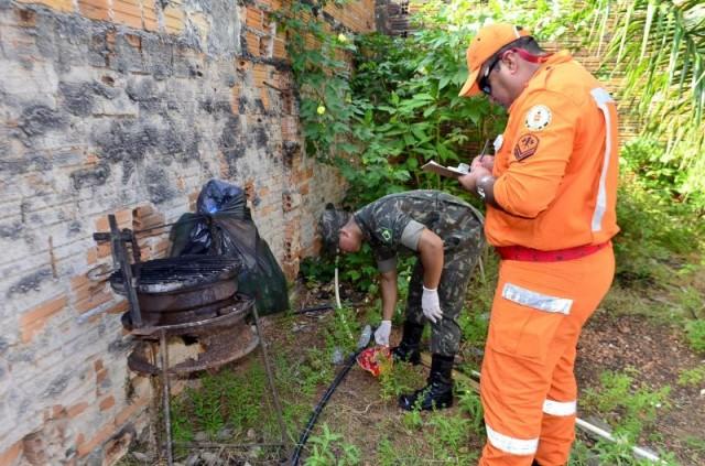 Ação de combate ao Aedes no Perpétuo Socorro encontra 43 focos