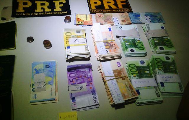 Camaronês é detido com mais de € 63 mil no Amapá