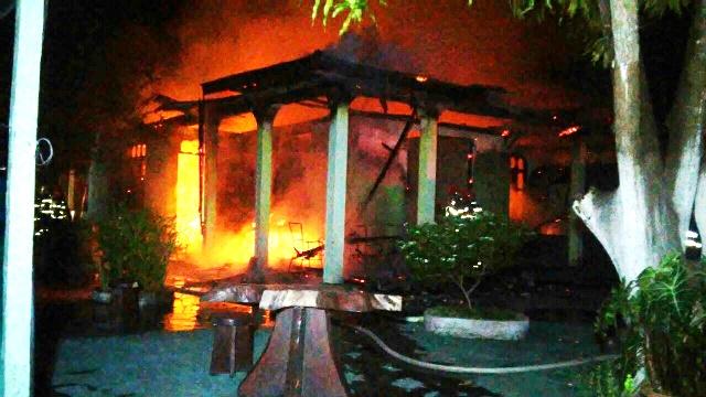 Aposentada de 65 anos morre em incêndio