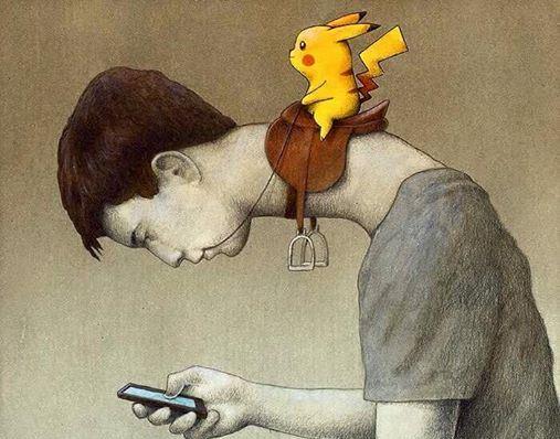 Pokemon GO e os zumbis virtuais