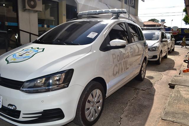 Delegacias de polícia recebem novas viaturas