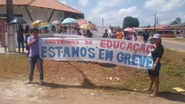 Greve na rede municipal de Ferreira Gomes e Itaubal atinge 5 escolas