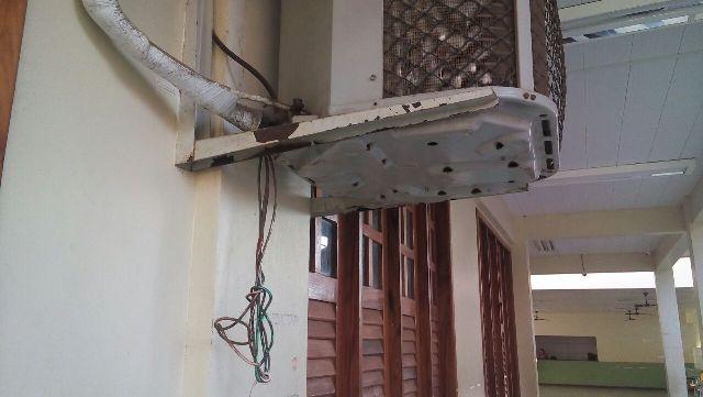 Escola tem 20 centrais de ar que nunca foram usadas