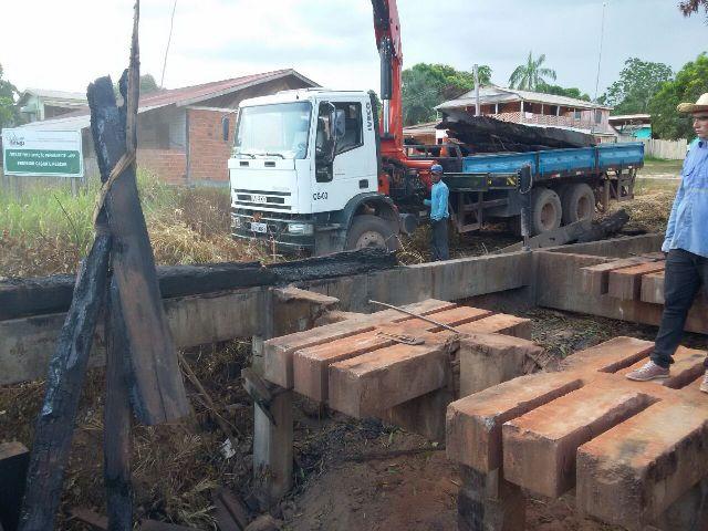 Ponte do Maracá fica pronta só na próxima semana