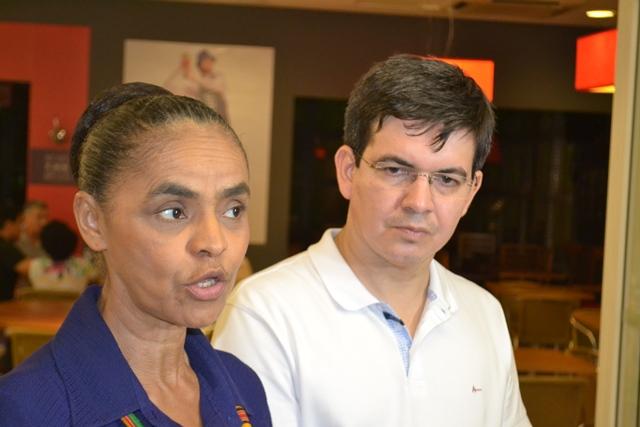 Em Macapá, Marina diz que candidatura em 2018 é incerta