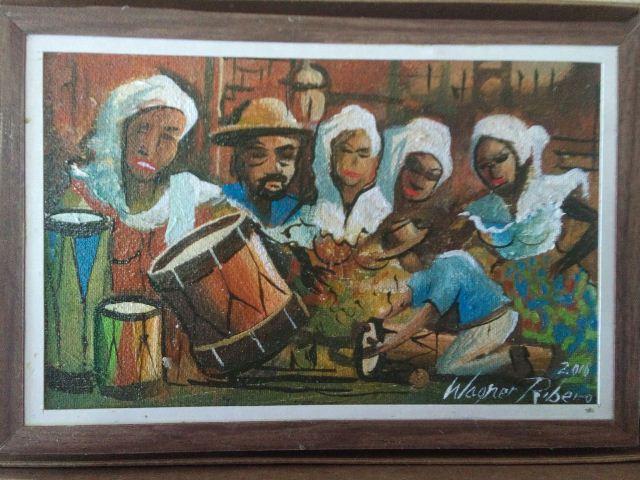 Wagner Ribeiro, o artista que pinta Macapá