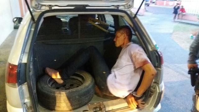 Após flagra vestindo cueca de vítima, ladrão é espancado