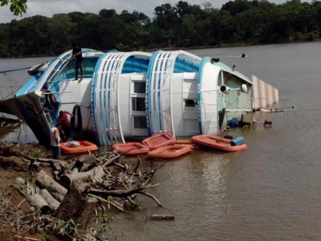 TRE confirma naufrágio de barco em comunidade ribeirinha