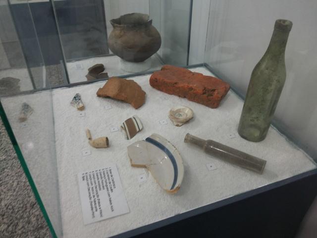 Exposição arqueológica exibe peças inéditas