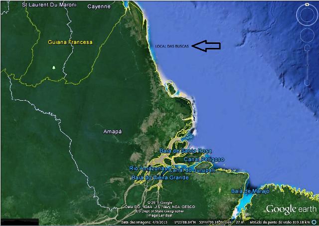 Marinha confirma desaparecimento de tripulante no Atlântico