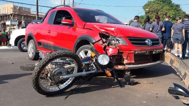 PM de moto morre em colisão