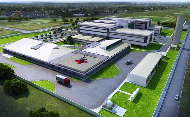 Começa a construção do Hospital Universitário
