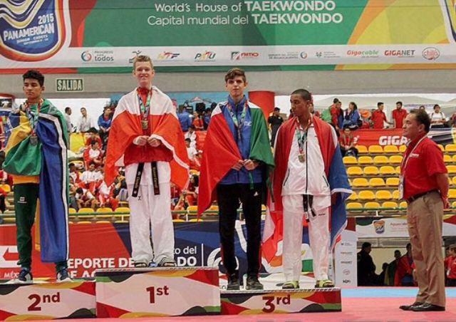 O atleta amapaense sobe ao pódio no Pan-americano