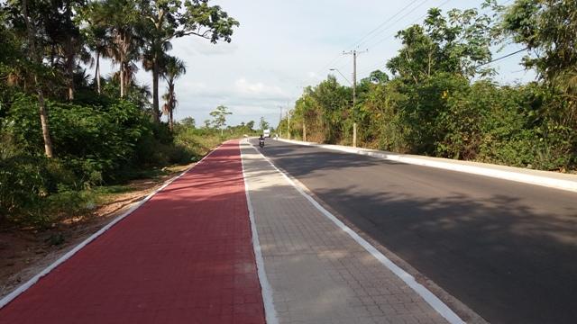 Rodovia do Pacoval tem 99% das obras concluídas