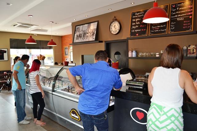 1 ano de gelateria, o conceito italiano que conquistou Macapá