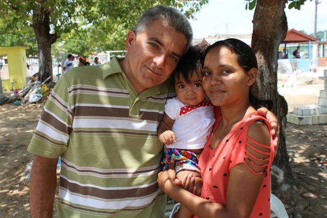 """""""Minha filha está com nosso Deus"""", diz pai em Santana"""