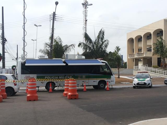PM vai usar ônibus com câmeras na Operação Papai Noel