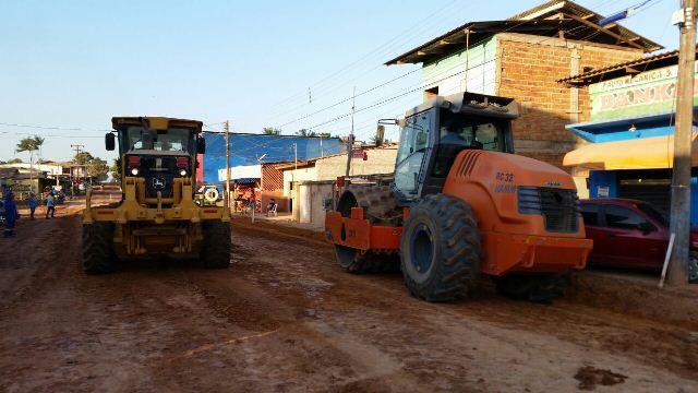 GEA retoma obras de mobilidade urbana em Santana